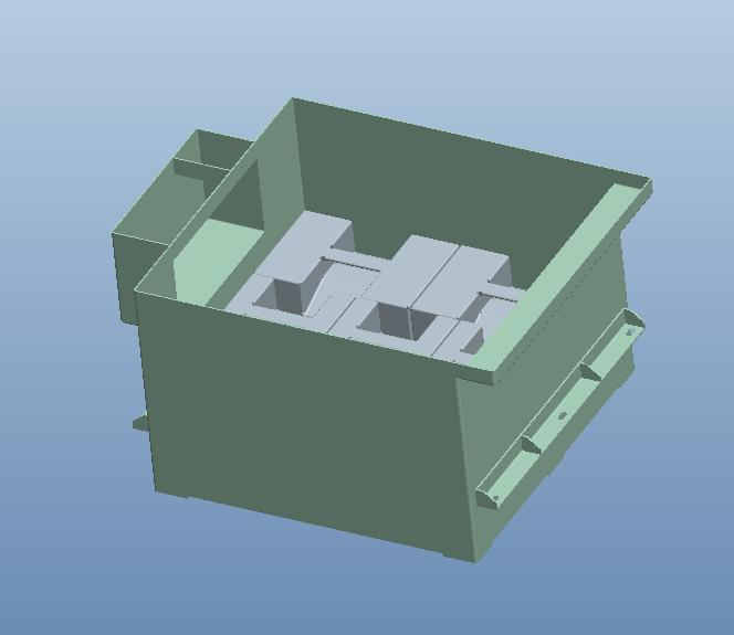 How this insert looks in the material vat